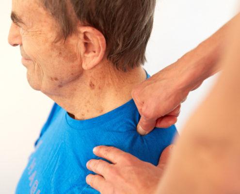 LNB Schmerztherapie und Bewegungstherapie Nackenschmerzen Sybille Veith