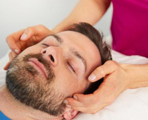 Schmerztherapie LNB Kieferschmerzen, Craniomandibuläres Syndrom Sybille Veith