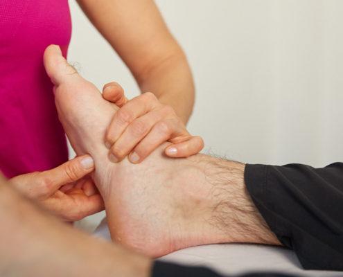 Schmerztherapie LNB Fußschmerzen Sybille Veith