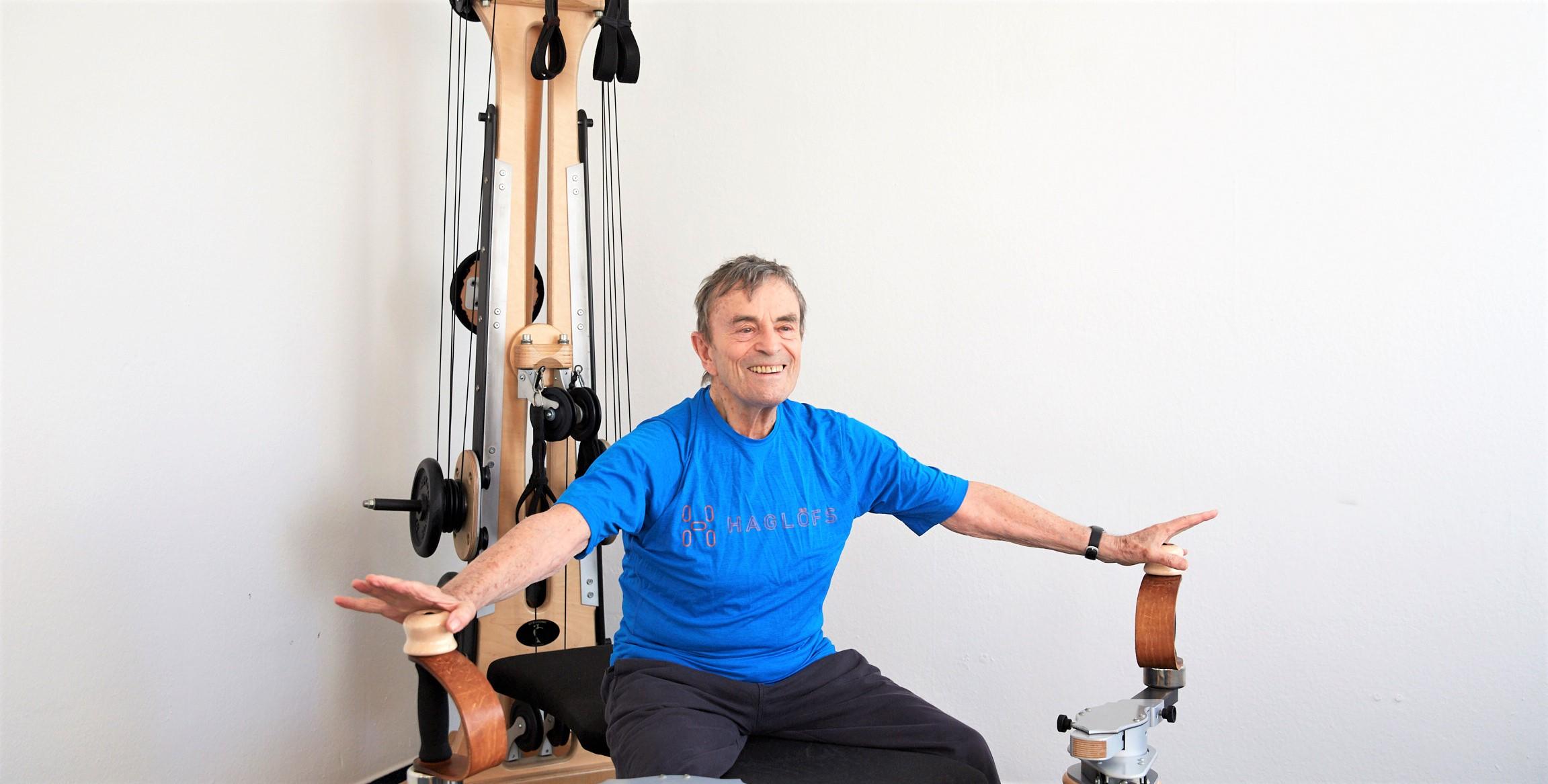 thrapeutisches Gyrotonic Training bei Polyneuropathie